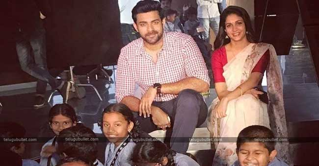 Varun Tej is moving with good scripts