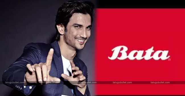 brand ambassador of Bata Sushant