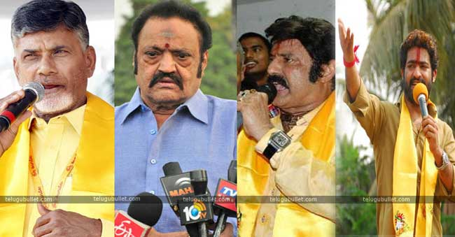 themselves between Balayya and NTR Jr.