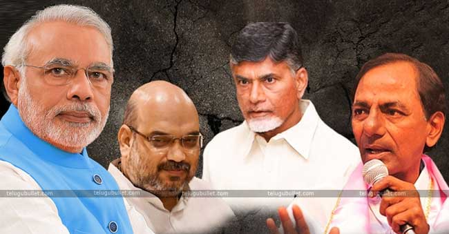 A.P and with TRS in Telangana