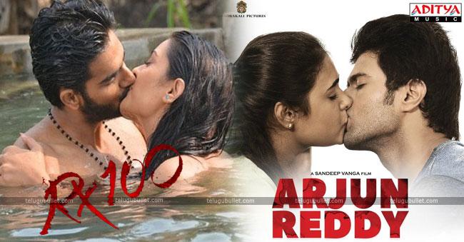 Arjun reddy And RX 100,