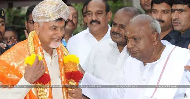Chandrababu Naidu who is trying relentlessly