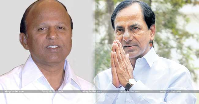 KCR stating that he has put the reputation