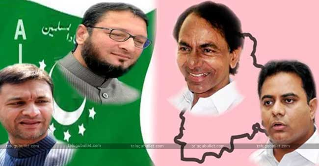 KCR's friendship with the MIM party