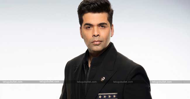 Karan Johar Had A Mini Meltdown