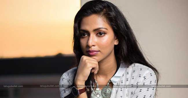 Later Amala Paul has made her re-entry