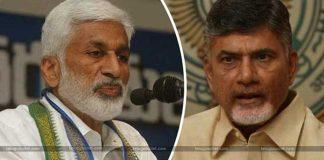 MP Vijay Sai Reddy allegedly commented on Chandrababu Naidu