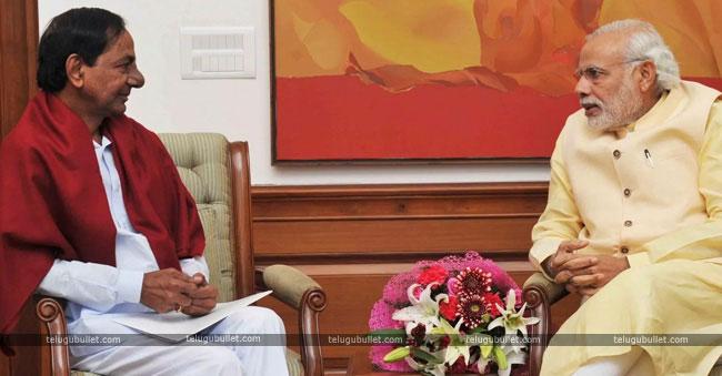 Modi And KCR