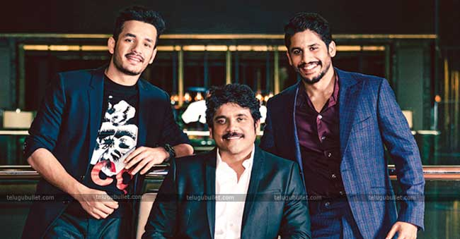 Nagarjuna Is Worrying About His Sons