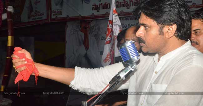 Pawan Kalyan did the most hyped train tour from Vijayawada