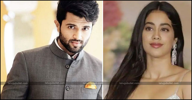 Sridevi's Daughter Janhvi Kapoor Take on Vijay Deverakonda