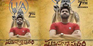 Subramanyapuram Release Date Locked