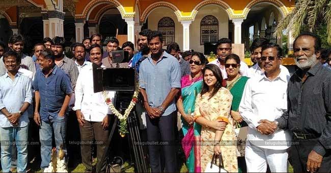 Tamil hero Vishal's 26th film titled Ayogya