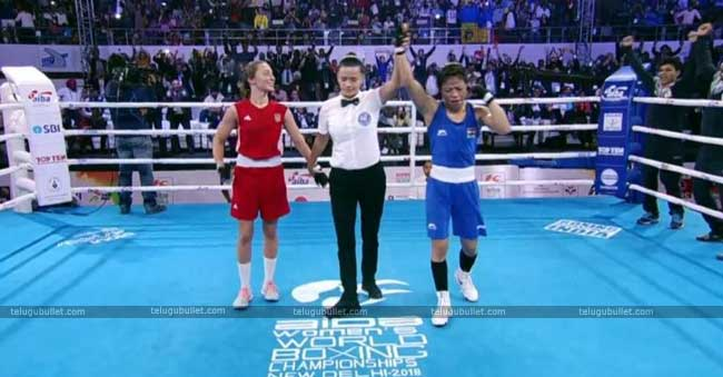 The 35 years old Mary Kom won three Olympic gold medals