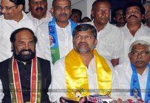 The president of Telangana unit Uttam Kumar Reddy