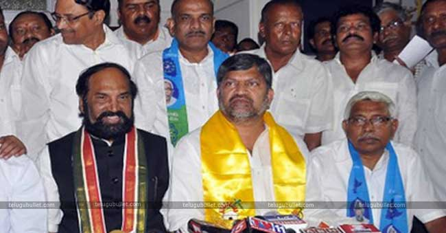 The president of Telangana unit Uttam Kumar Reddy