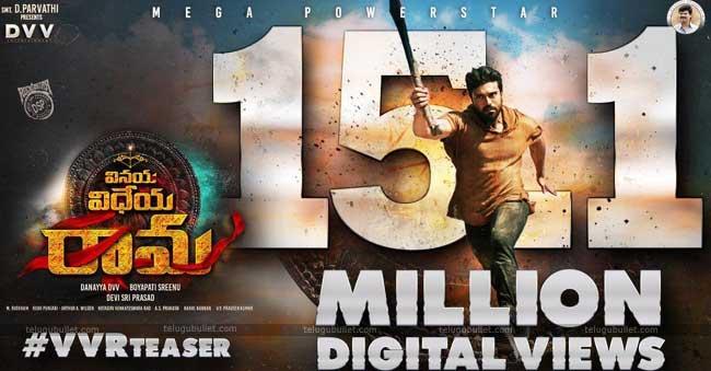 VVR Teaser 15 Million Digital Views