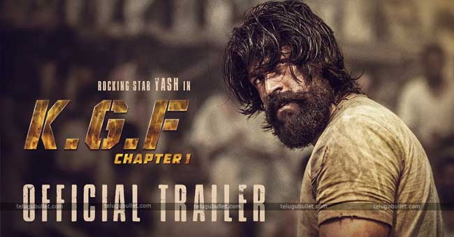 Yash KGF Official Trailer