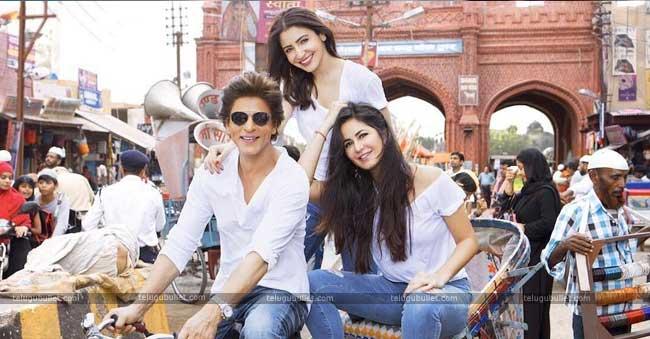 Zero movie seems like a triangle love between Shah Rukh Khan