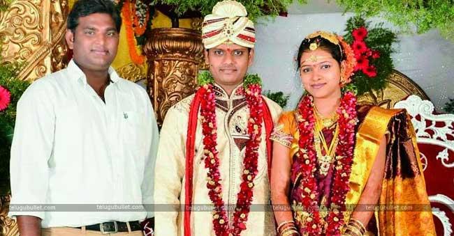 married his love lady Pavani belongs to Warangal