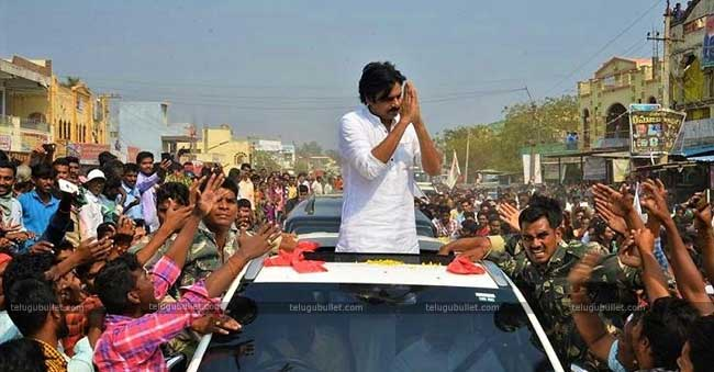Pawan is concentrating only on Godavari districts