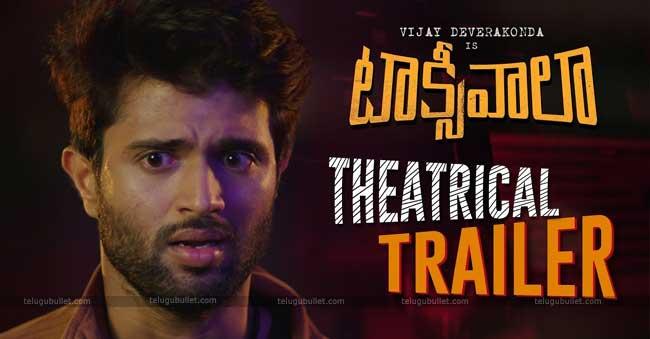 Taxiwala Official Trailer Released Telugu Bullet