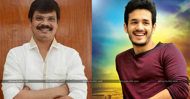 Boyapati Sreenu Responds On Teaming Up With Akhi