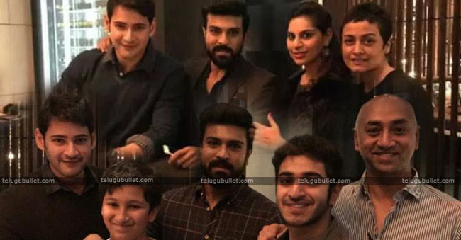 Mahesh-And-Charan-Families-