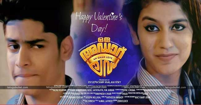 Oru Adaar Love To Cash In Valentines Day Fever