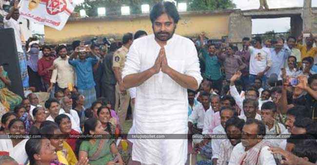 Pawan Continued Fuming Fire On Jagan In Anantapur Tour