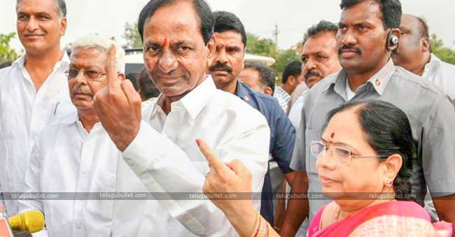 TRS To Emerge Victorious In Telangana Elections