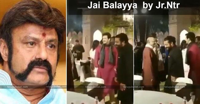 Tarak shouts Jai Balayya In SS Karthikeya sangeet