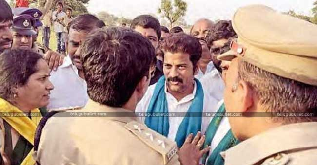 Telangana Congress Leader Revanth Reddy arrested