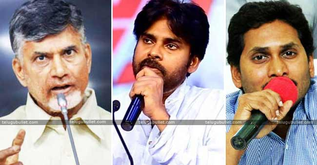 Times Now Survey Favours YSRCP Leaving TDP In Vain