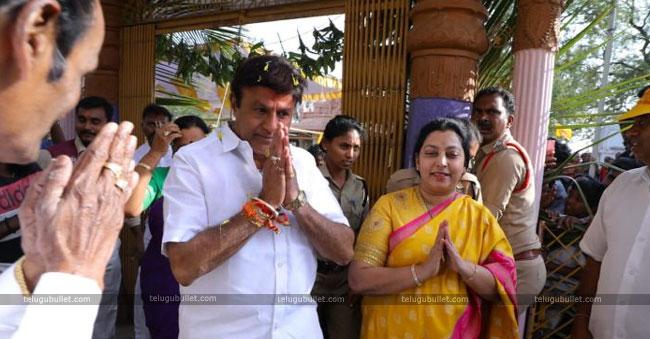 Vasundhara To Replace Balakrishna In Hindupur