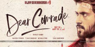 Vijay Finalizes Dear Comrade Release Date