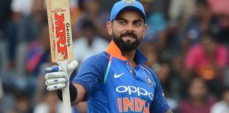 Kohli created the new world record