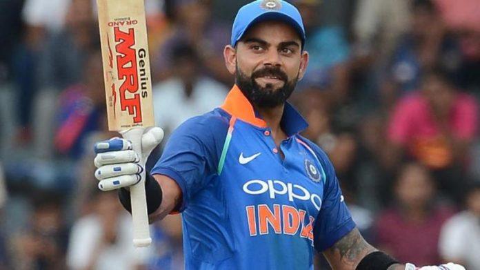 Kohli created the new world record