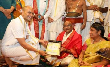 Former MP YV Subba Reddy took charge as new TTD chairman