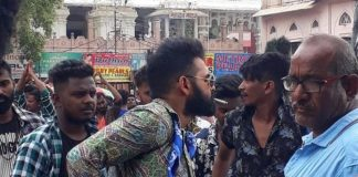 Hyderabad police: Hero Ram booked for public smoking near Charminar.
