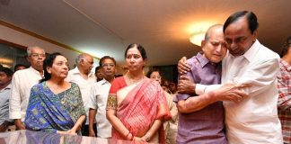 CM KCR condoled Krishna over the death of Actress Vijaya Nirmala