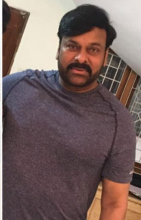 chiru look in koratala movie