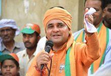 Alwar MP and BJP leader Mahant Balakant have narrowly escaped