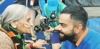 Kohli, Rohit spoke to 87-year-old superfan after reaching semi-finals