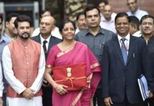 Nirmala Sitharaman released Union Budget of 2019-2020