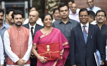 Nirmala Sitharaman released Union Budget of 2019-2020