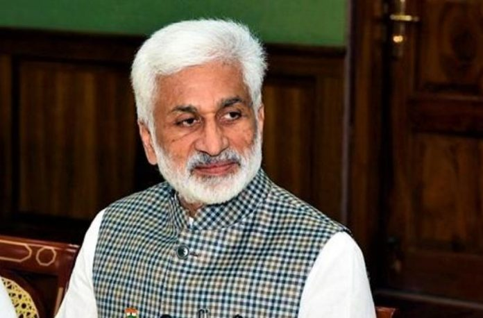AP govt retracts MP Vijayasai Reddy's role as special representative in Delhi