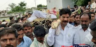 Mahabubad: TRS MLA Shankar Nayak saddened of his gunman's death
