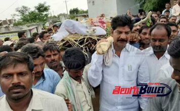 Mahabubad: TRS MLA Shankar Nayak saddened of his gunman's death