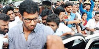 Chennai magistrate court issued a non-bailable warrant to actor Vishal